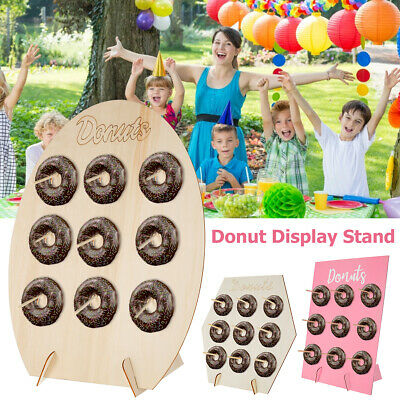 £6.49 • Buy 9x Donut Doughnut Wall Stand Party Sweets Candy Cart Wedding Favour Birthday UK