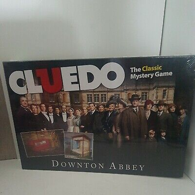 £13.99 • Buy Cluedo Downtown Abbey Board Game Hasbro Brand New Sealed