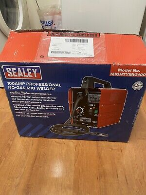 £120 • Buy SEALEY MIGHTYMIG100 100Amp No Gas / Gasless Mighty Mig Welder + Flux Wire Kit.