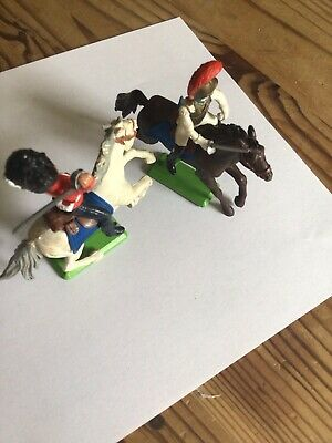 £7.30 • Buy Britains Deetail Napoleonic Mounted Cavalry French And British Soldiers Waterloo
