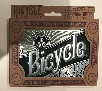 £12.99 • Buy Bicycle Playing Cards 2 Decks In Collectors Tin