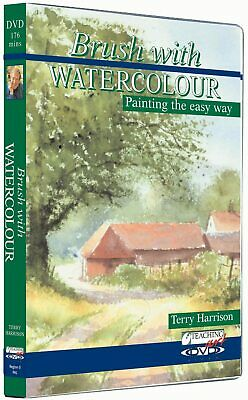 £22 • Buy Brush With Watercolour - Terry Harrison. DVD