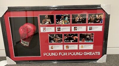 AU1250 • Buy Boxing Glove Signed Pacquiao, Maywhether, Jones Jr, Trinidad And More With COA