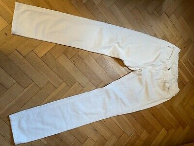 £50 • Buy J Brand Low Rise White Jeans (elasticated)