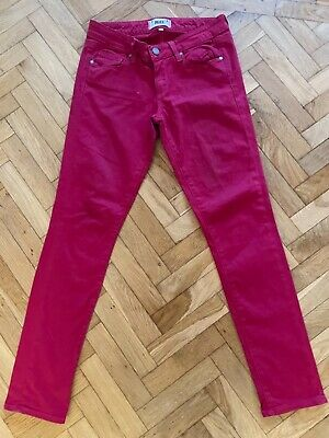 £50 • Buy PAIGE Hot Pink Low Rise Jeans
