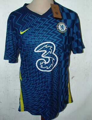£29.99 • Buy Replica Chelsea 20/21 Home Shirt Football Jersey 2XL 46inch Ches