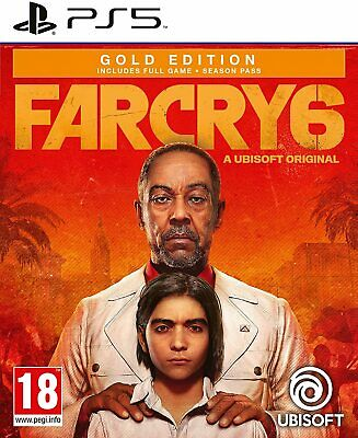 AU91.88 • Buy Far Cry 6 Ps5 Playstation 5 (gold Edition With Season Pass)