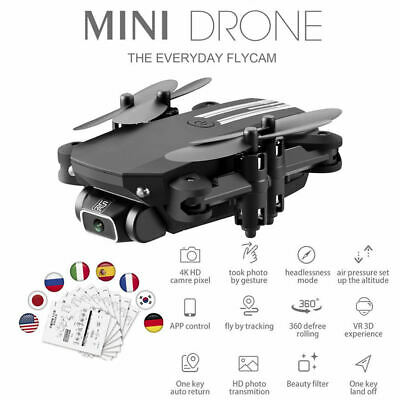 AU35.08 • Buy FPV Foldable Drone GPS Altitude Hold Headless Mode RC For Beginners Adults