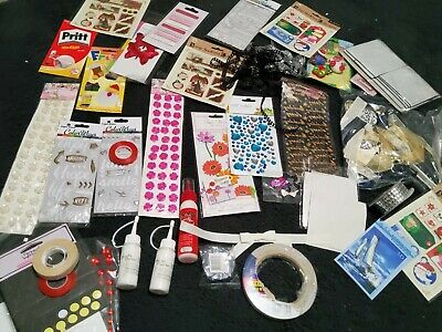 £0.99 • Buy Craftroom Clearout Bundle, Glue, Embellishments, Toppers, Foam Pads, Glue Tape