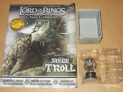 £7.99 • Buy Lord Of The Rings Collectors Chess Set 2 Issue 39 Siege Troll