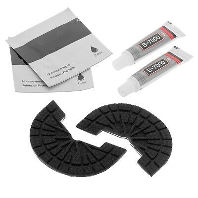 £8.14 • Buy Rubber Sole Protector Replacement Kit Size 4.5 - 5.5 AUS Adhesive Shoe Repair