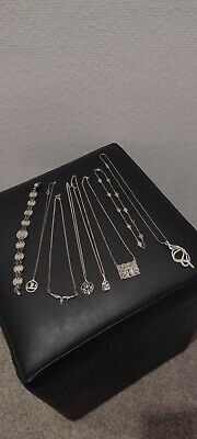£17 • Buy A Joblot Of Sterling Silver .925 Jewellery Necklaces