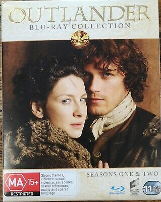 AU25 • Buy Outlander Collection Season One And Two 1 And 2 Blu-ray