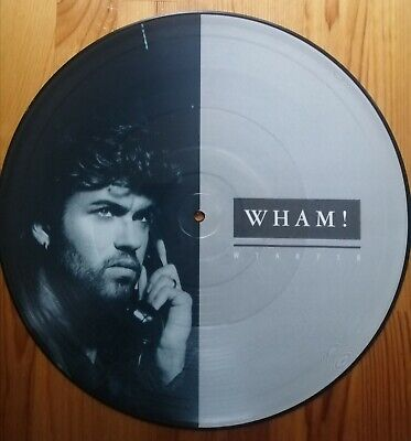 £5 • Buy Wham.. Very Rare 12  Picture Disc.