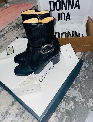 £245 • Buy Gucci Boots (GENUINE) Real Leather, Size 35.5/3.5