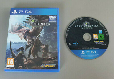 AU14.99 • Buy Monster Hunter: World For Sony PlayStation 4 - As New Condition