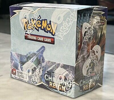 AU147.50 • Buy Pokemon Chilling Reign Booster Box - Mint Sealed