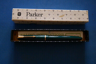 £2.49 • Buy Parker Slimfold Fountain Pen Inc. Box & Instructions - Excellent Working Cond.
