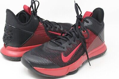 $49.99 • Buy Pre-Owned Nike LeBron Witness IV Black And Red Basketball Shoes Size 12