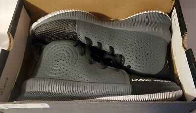 $19.99 • Buy Under Armour Mens Jet 3022939-001 Black Basketball Shoes Lace Up Mid Top Size 8