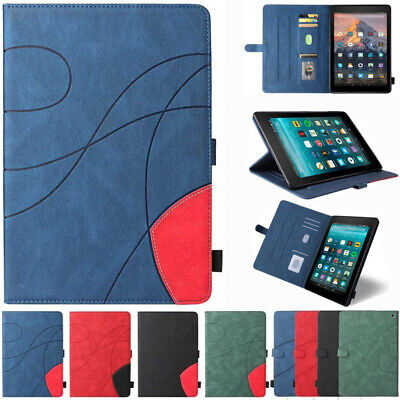 AU14.89 • Buy For Amazon Kindle Paperwhite 1 2 3 4 Fire HD 10 Leather Stand Smart Case Cover