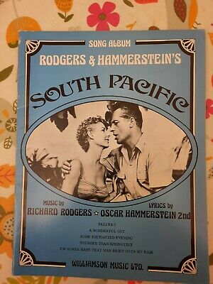 £1.20 • Buy South Pacific Rodgers And Hammerstein's Song And Dance Sheet Music Vintage