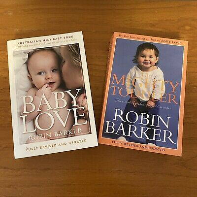 AU24.95 • Buy BABY LOVE 6th Edition The Mighty Toddler Robin Barker Paperback Revised Updated