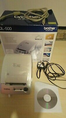 £7.50 • Buy Brother P-Touch QL-500 Label Printer