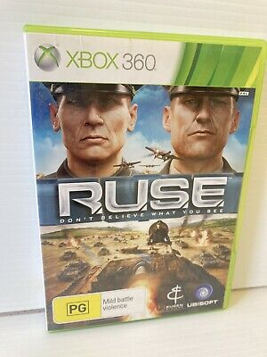 AU21.95 • Buy Xbox 360 Ruse, Don't Believe What You See PAL : Complete : VGC : FAST FREE POST!