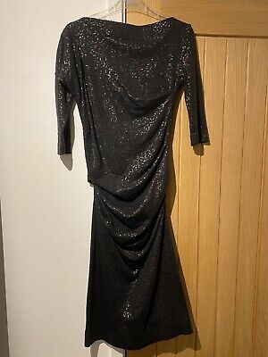 £15 • Buy Vivienne Westwood Anglomania Dress - Black With Sequins