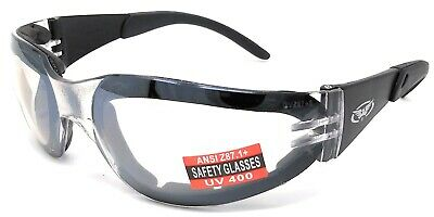 Clear Glasses/Sunglasses 4 Cricket Cycling Golf Shooting Ski Tennis & Motorcycle • 10.99£