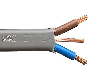 SHOWER CABLE 10mm Twin & Earth - 10 Metre Length 6242YH • 32.45£