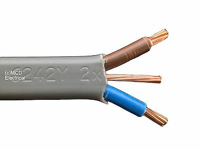 SHOWER CABLE 10mm Twin & Earth - 25 Metre Length • 69.95£