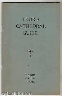 Truro Cathedral Guide - 1932 Booklet / Cornwall  • 12£