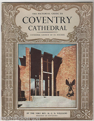 Coventry Cathedral - Guide 1962 • 10£
