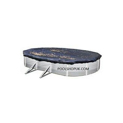 24ft X 12ft Above Ground Swimming Pool Winter Debris Cover • 83.85£