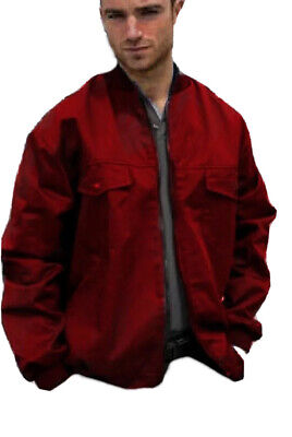 £5.95 • Buy ZIP FRONT DRIVERS JACKET WORK - BOMBER Style COAT - Quality British Made - JK115