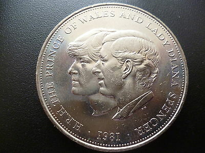 1981 Crown Coin The Royal Wedding Of Prince Charles & Lady Diana Spencer 1981 • 1.40£