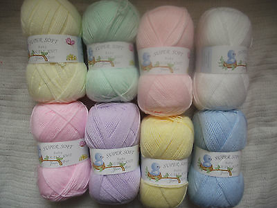 100g Super Soft Baby Double Knitting Wool - James C Brett - Choice Of Colours • 1.99£
