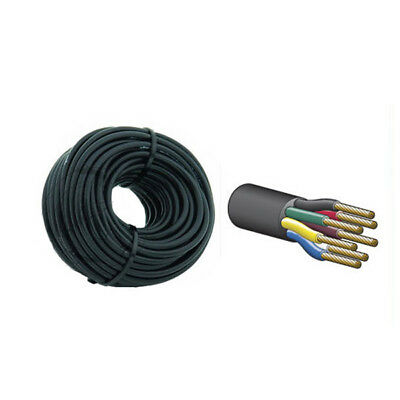 AU69.95 • Buy Cable 7 Core 4mm Trailer Cable Wire 10 Metres