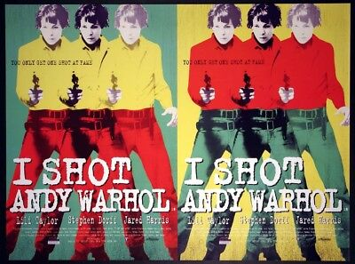 $225 • Buy I Shot Andy Warhol Lili Taylor 1996 British Quad Rolled