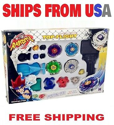 $19.95 • Buy  Beyblade Metal Fusion Masters Fight  Launcher Rare Toy Set  4D *USA Seller*
