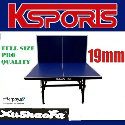 AU530 • Buy XU SHAO FA 19mm Table Tennis Table Ping Pong Table - ITTF APPROVED MANUFACTURER