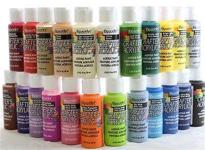 £2.95 • Buy DecoArt Acrylic Paint Crafters Various Assorted Colours 59ml Bottle Deco Art