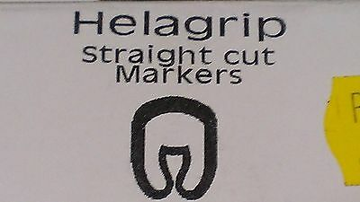 Pkt500 Helagrip Straight Cable Marker White Critchley Size9 Type Z Style Label • 2.95£