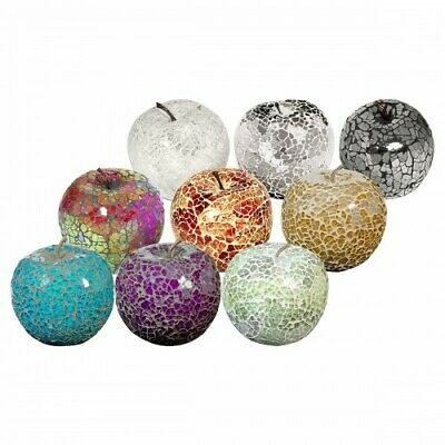 £6.20 • Buy Mosaic Glass Apples Without Leaf - Choose Colours - Great Focal Point For Rooms