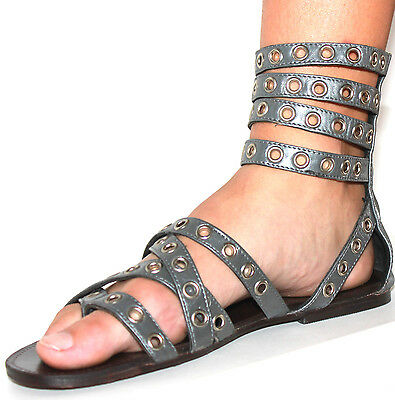 AU29.99 • Buy TIGERLILY The Troy Leather Gladiator Sandals, Size 6 Euro 37. NWT, RRP $129.95.