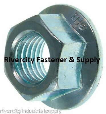 $21.97 • Buy (100) M10x1.5 Metric Serrated Hex Flange Nuts Class 10 DIN 6923