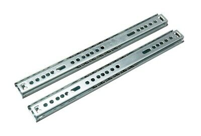 Ball Bearing Cabinet Grooved Drawer Runners From 246 To 438 Mm Fits Mfi Ikea • 3.90£