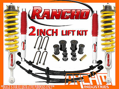 AU1395 • Buy MITSUBISHI TRITON ML/MN SERIES 7/2006-ON RANCHO 40mm SUSPENSION LIFT KIT